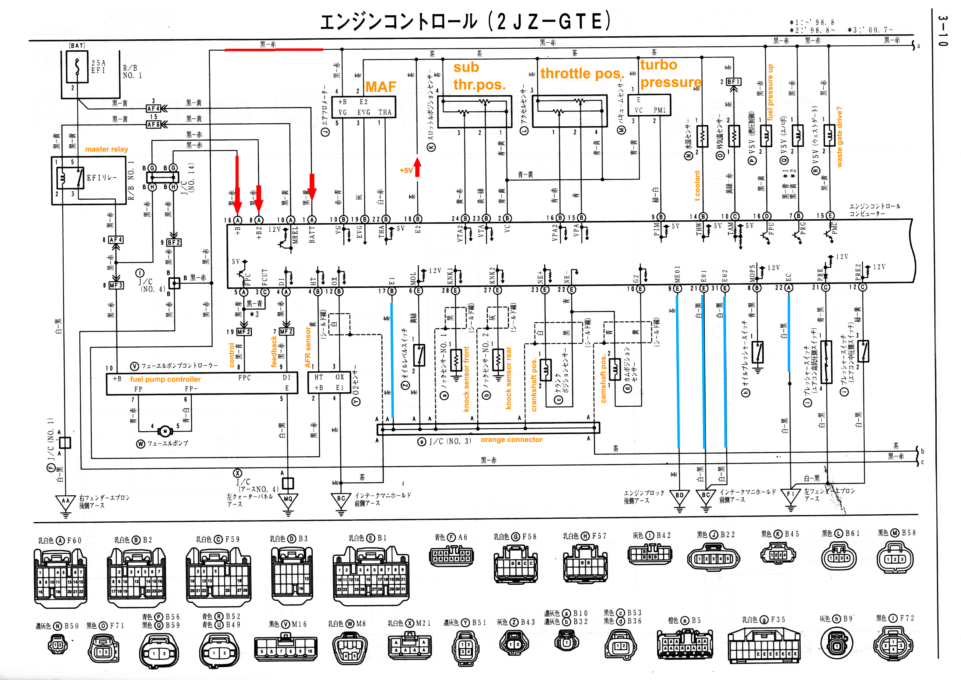 Toyota 1jz Wiring Diagram likewise 1jz Vvti Wiring Diagram Pdf likewise 1uzfe Wiring Diagram Pdf further Supra 2jzge Wiring moreover 90 Accord Fuse Box Diagram. on 1jz vvti ecu wiring diagram