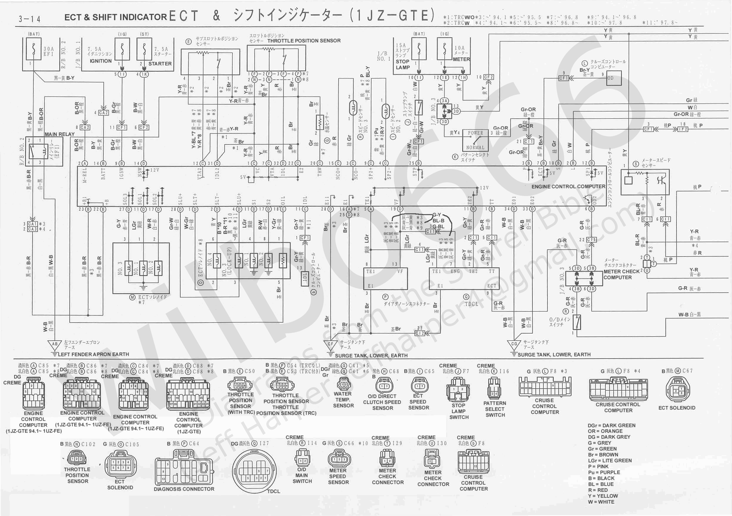 Jzx90 Wiring Diagram 20 Images Diagrams 7mge Harness Electrical Xzz3x 6737105 3 14 1jz Conversion U2022